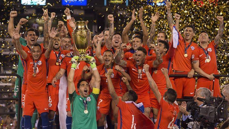 Chile bicampeón, Copa América Centenario
