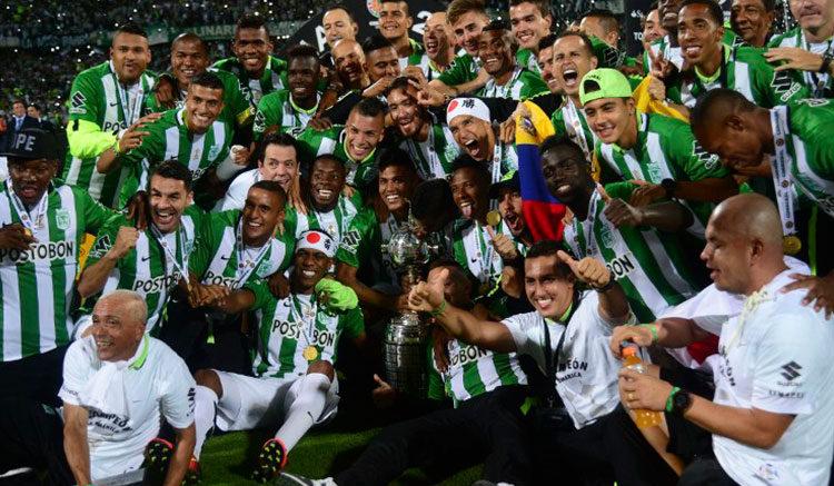 Atl U00e9tico Nacional Bicampe U00f3n De Copa Libertadores Por