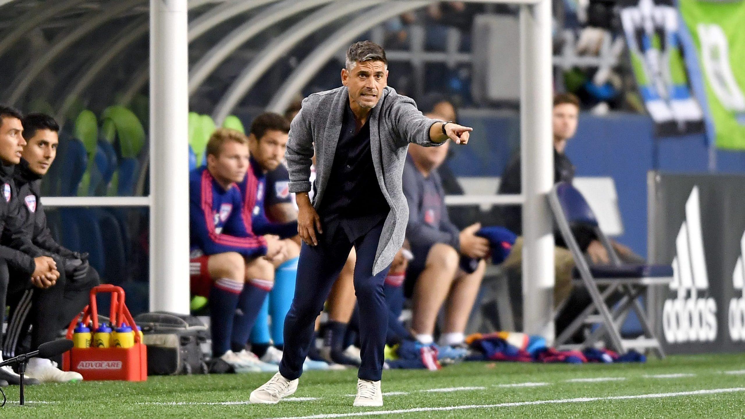 FC Dallas despidió a Luchi González del puesto de entrenador