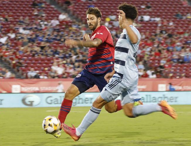 El FC Dallas de Marco Ferruzzi no tuvo respuesta ante Sporting KC