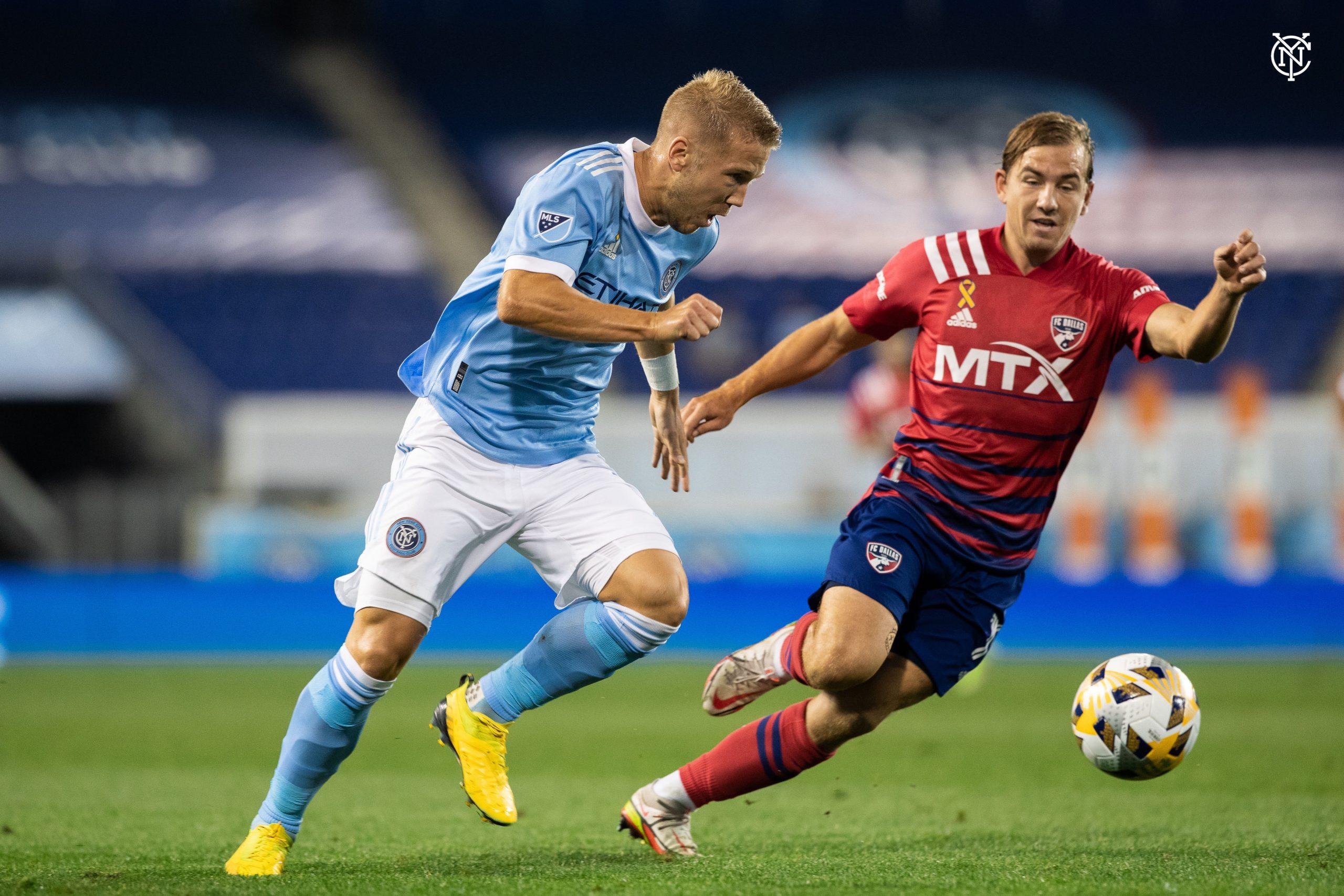 FC Dallas consiguió un valioso empate ante el New York City FC